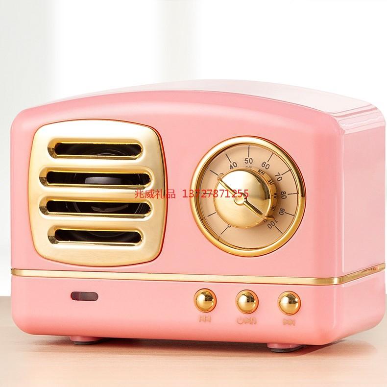 复古小音响 无线蓝牙音箱 便携式手机低音炮